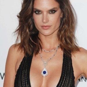 Alessandra Ambrosio Eye-Fucking The Camera In Hot Dress – Celeb Nudes