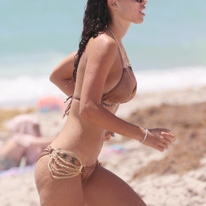 Alexandra Rodriguez Wearing Bikini On a Beach – Celeb Nudes