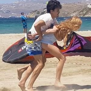 BoobSlip Photos of Lindsay Lohan – Celeb Nudes