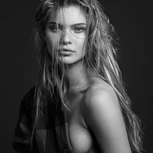 B&W Shots Of A Topless Josie Canseco – Celeb Nudes