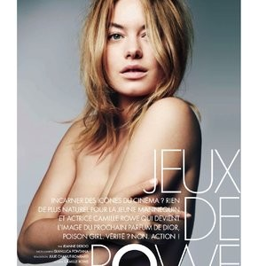 Camille Rowe Topless Photo – Celeb Nudes