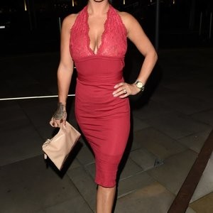 Chantelle Connelly Looks Really Great In Red – Celeb Nudes