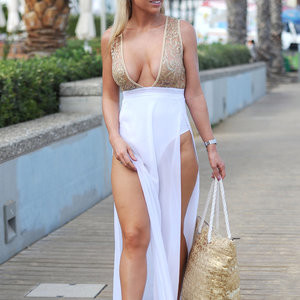 Cleavage Photos of Frankie Essex – Celeb Nudes