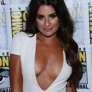 Cleavage Photos of Lea Michele – Celeb Nudes