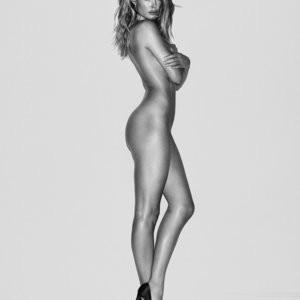 Doutzen Kroes & Lara Stone B&W Sexy Photos - Celeb Nudes