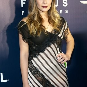 Elizabeth Olsen See-Through Photos – Celeb Nudes