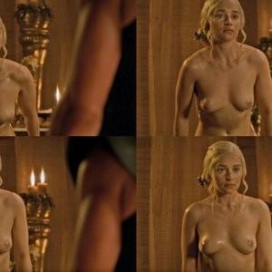 Emilia Clarke nude Famous Nude