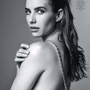 Emma Roberts Posing For Some Magazine – Celeb Nudes