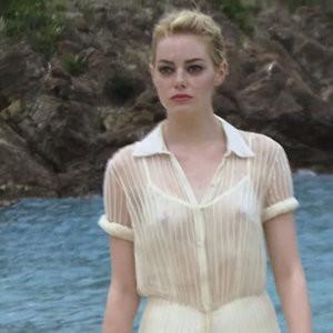 Emma Stone See-Through Photos – Celeb Nudes