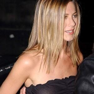 Jennifer Aniston see through black dress