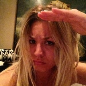 Kaley Cuoco Selfie image big boobs