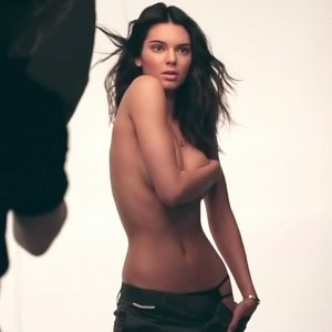 Kendall Jenner nude modelling