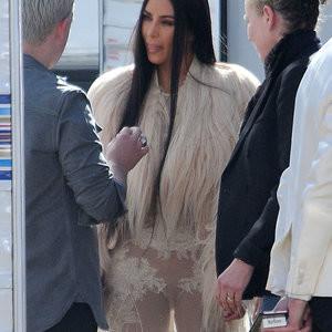 Kim Kardashian See-Through Photos – Celeb Nudes