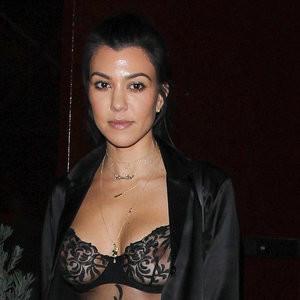 Kourtney Kardashian See-Through Photos – Celeb Nudes