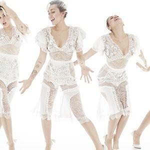 Miley Cyrus See-Through Photo – Celeb Nudes