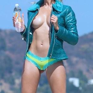 Nausicaa Topless Outdoor Photos – Celeb Nudes