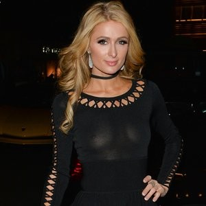 Paris Hilton Braless Photos – Celeb Nudes