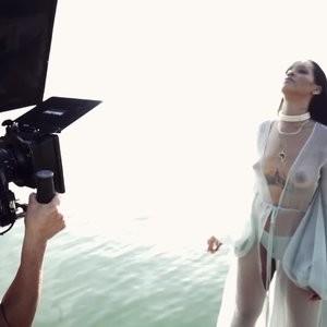 Rihanna See-Through Photos – Celeb Nudes