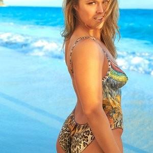Ronda Rousey Body Paint Photos – Celeb Nudes