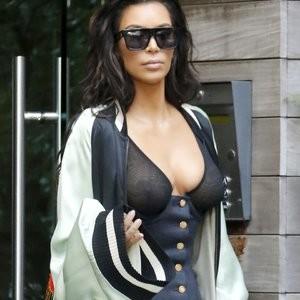 See-Through Photos of Kim Kardashian – Celeb Nudes