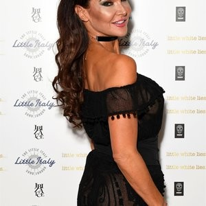 See-Through Photos of Lizzie Cundy – Celeb Nudes