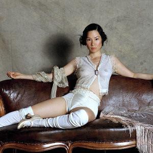 See-Through Photos of Lucy Liu – Celeb Nudes