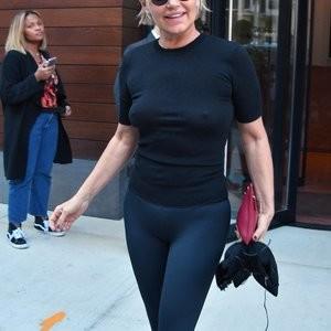 See-Through Photos of Yolanda Hadid – Celeb Nudes