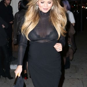 See-Through pics of Chrissy Teigen – Celeb Nudes