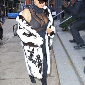 See-through pics of Kim Kardashian – Celeb Nudes