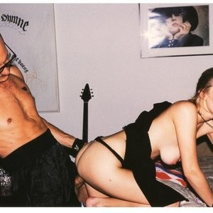 Terry Richardson nude with her old boyfriend