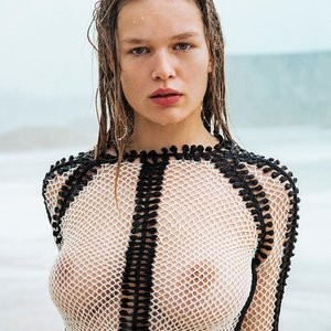 Topless Photoset of Anna Ewers – Celeb Nudes