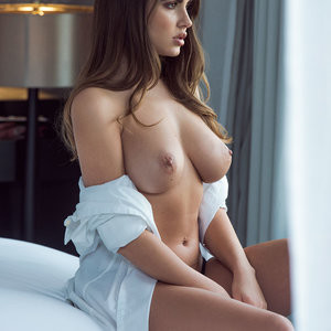 Topless photoshoot of Sabine Jemeljanova – Celeb Nudes